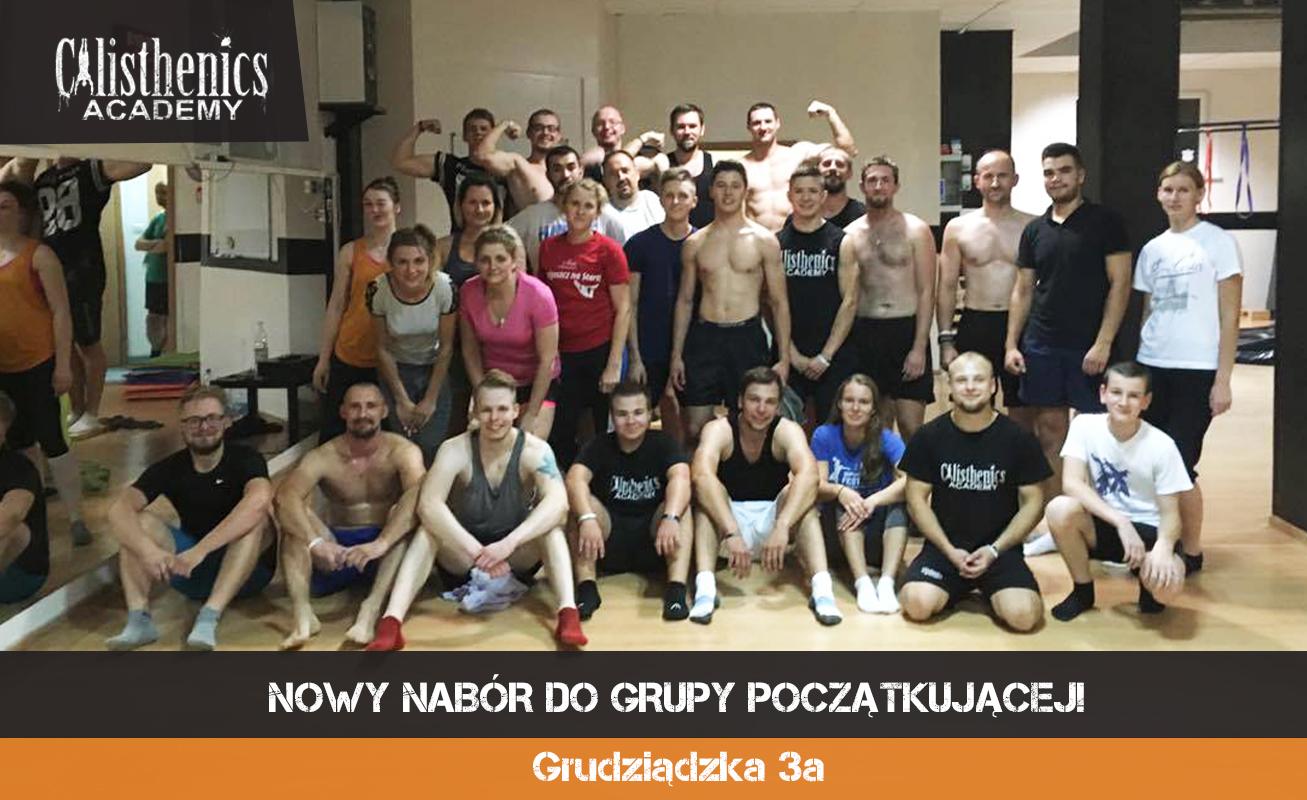 Nowa grupa początkująca na sali przy Grudziądzkiej 3a!