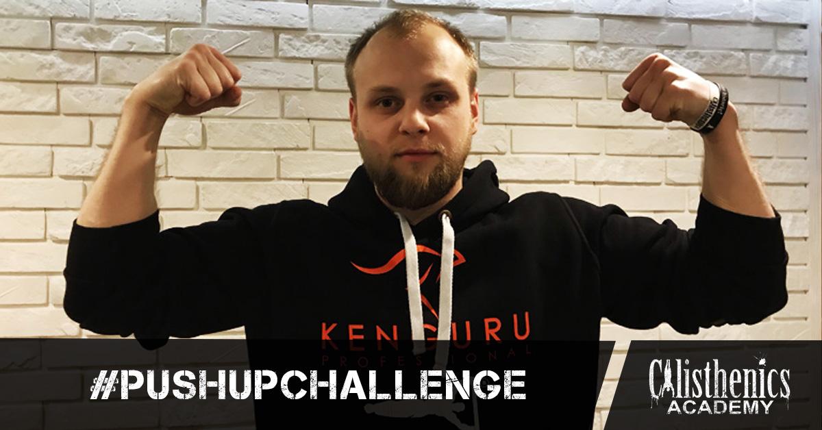 #PushUpChallenge